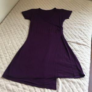 Bali Kiss Dresses - ❤️Plain Purple Bali Kiss V-Neck  Casual Dress